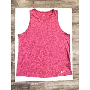 Pink Women's Nike Tank Top